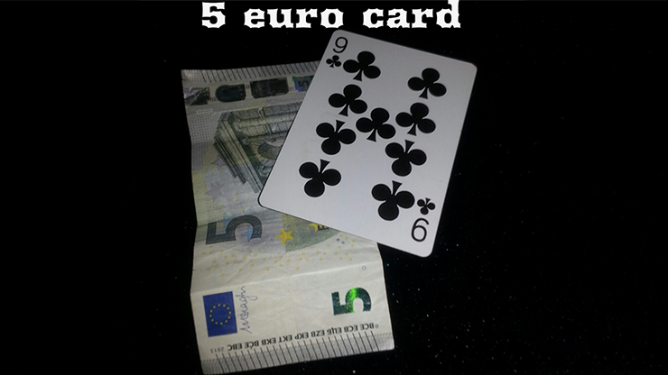 5 Euro Card by Emanuele Moschella Streaming Video