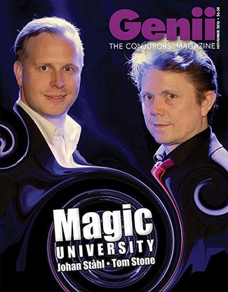 Genii Magazine November 2016 - Libro de Magia