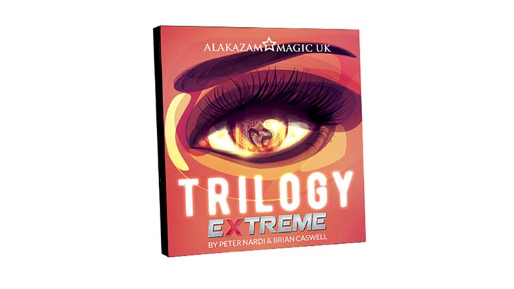 Trilogy Extreme (Accesorio & DVD) - Brian Caswell & Alakazam Magic - DVD