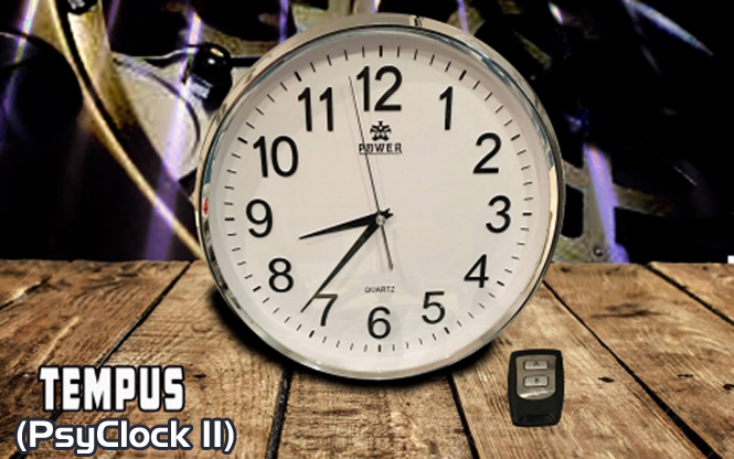 Psyclock II Tempus (Gimmick and Online Instructions) by Alakazam Magic - Trick