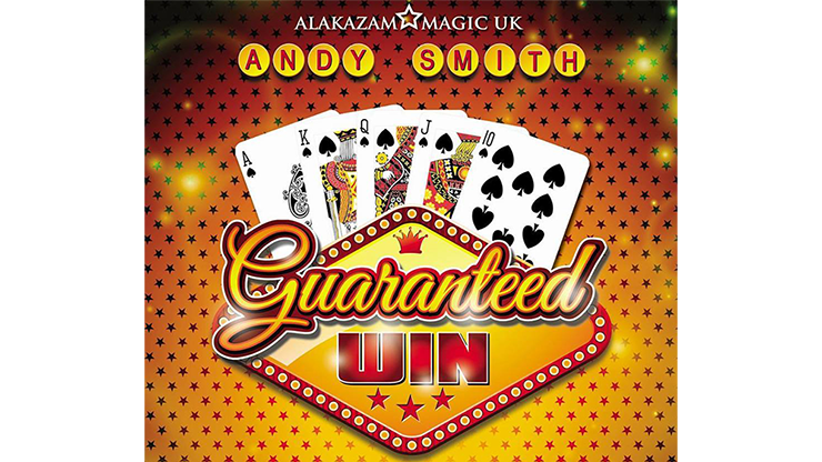 Guaranteed Win (DVD and Gimmick) by Andy Smith and Alakazam Magic 2-phasige Kartenverwandlung