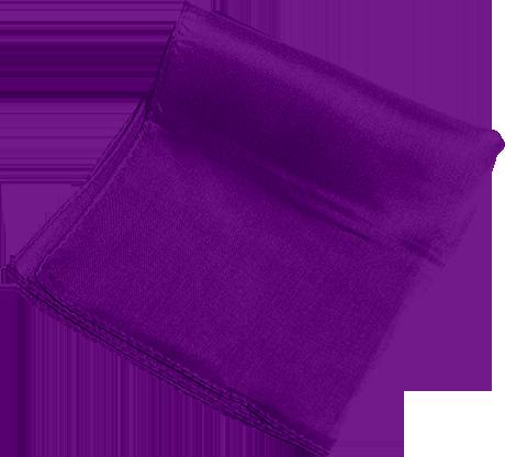 Silk 36 inch (Violet) Magic by Gosh - Trick