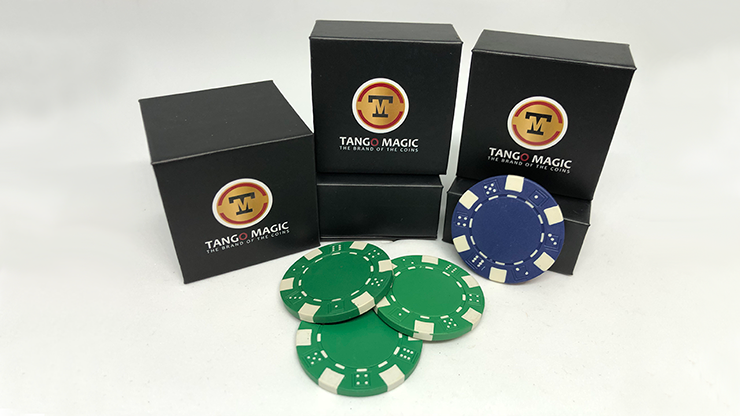 Ambitious Chip (Gimmick and Online Instructions) by Tango Magic - Trick