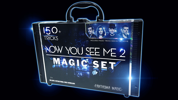 Now You See Me 2 Magic Set (150 Tricks) by Fantasma Magic