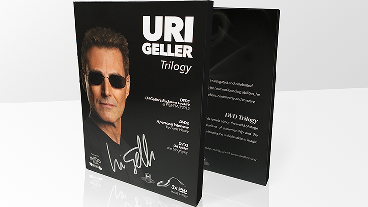 Uri Geller Trilogy (Signed Box Set) - Uri Geller & Masters of Magic - DVD