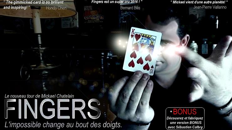 Fingers (Red) by Mickael Chatelin - Spontane Kartenverwandlung