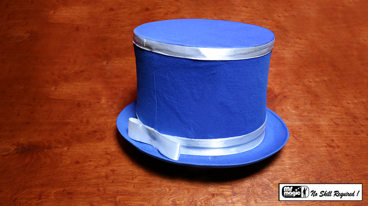 Collapsible Top Hat (Blue) - Mr. Magic