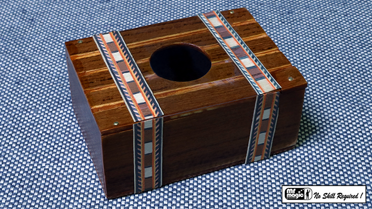 Mexican Bill Box (Wood) by Mr. Magic - Trick