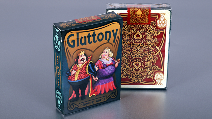 Gluttony Playing Cards by Collectable Playing Cards