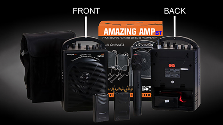 Amazing Amp with Bluetooth by Happie Amp - Trick