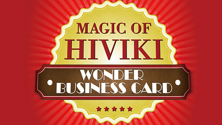 Wonder Business Card - Hiviki