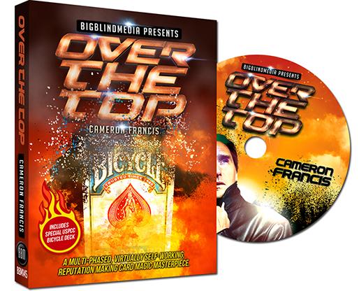 Over the Top (DVD & Accesorio) - Cameron Francis - DVD