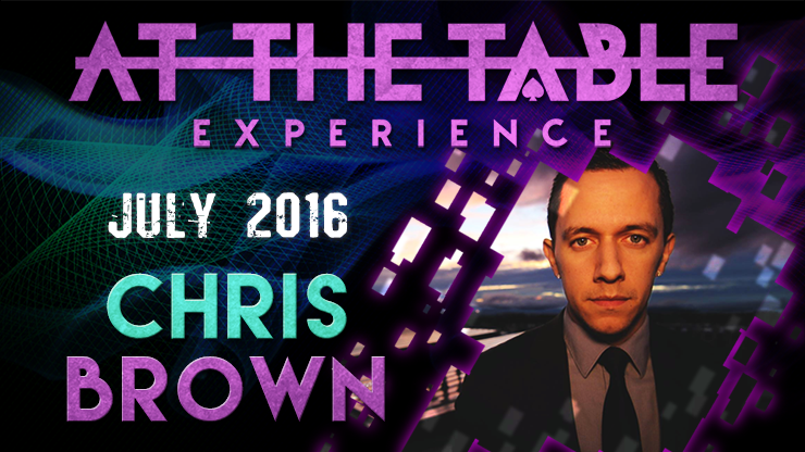 At the Table Live Lecture Chris Brown July 6th 2016 video DOWNLO