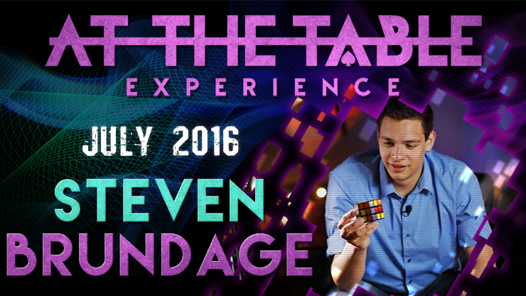 At the Table Live Lecture - Steven Brundage July 20th