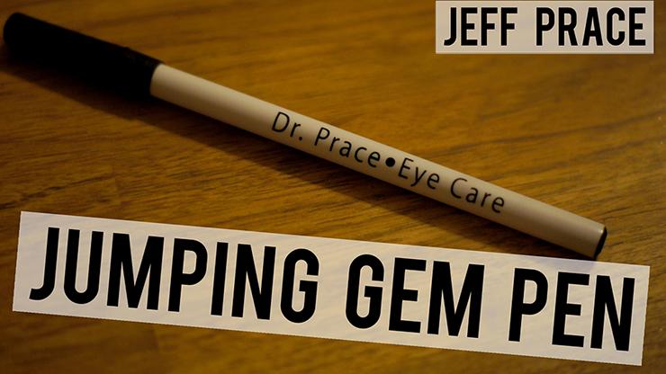 Jumping Gem Pen (Dr. Prace Eye Care) by Jeff Prace - Trick