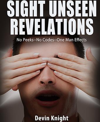 Sight Unseen Revelations