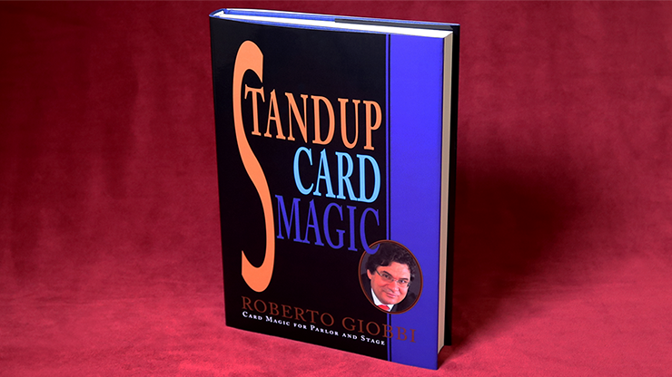 Stand up Card Magic by Roberto Giobbi - Book
