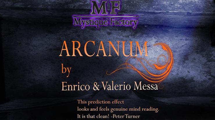 Arcanum by Enrico & Valerio Messa Mystique Factory
