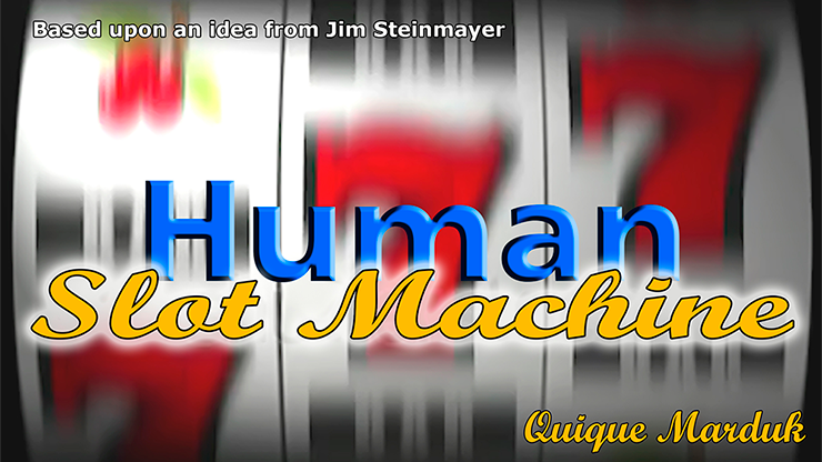 Human Slot Machine by Quique Marduk - Trick