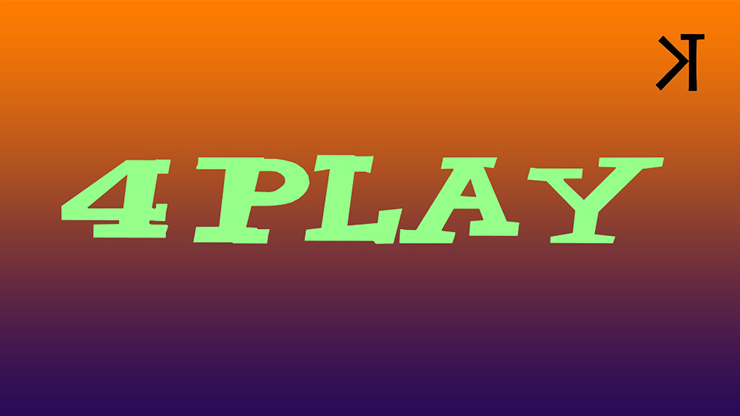 4 Play by Kelvin Trinh Streaming Video