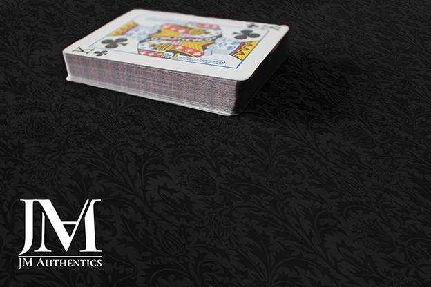 Close Up Pad (24  x 14 inch) Black Thistle Print by JM Authentics - Trick