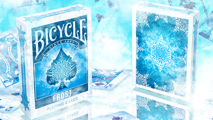 Bicycle Frost Playing Cards by Collectable Playing Cards