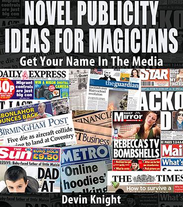 Novel Publicity For Magicians eBook DOWNLOAD