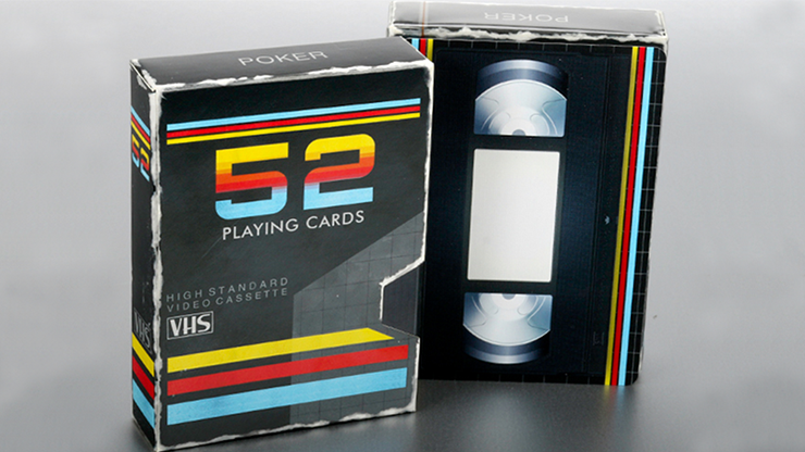 VHS Playing Cards - Collectable Playing Cards