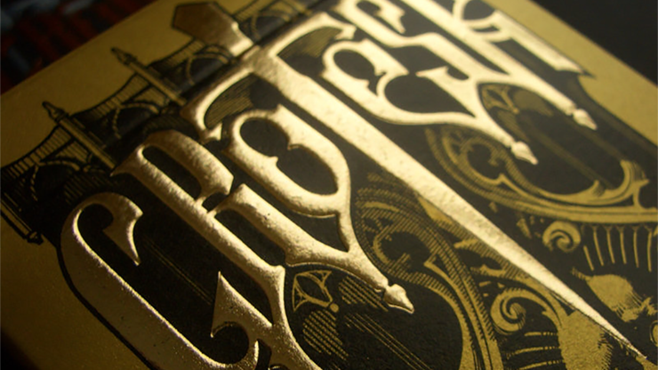 Grotesk Macabre Playing Cards Limited (Gold) by Lotrek - Trick