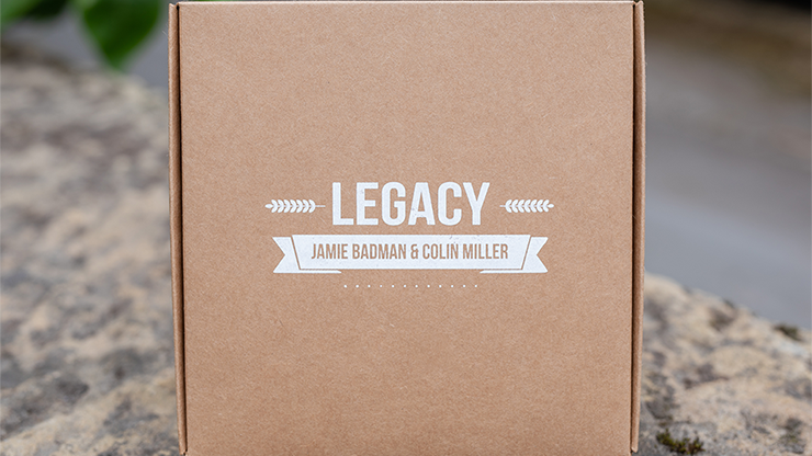 Legacy V2 (Gimmicks, Book and Online Instructions) - Jamie Badman and Colin Miller