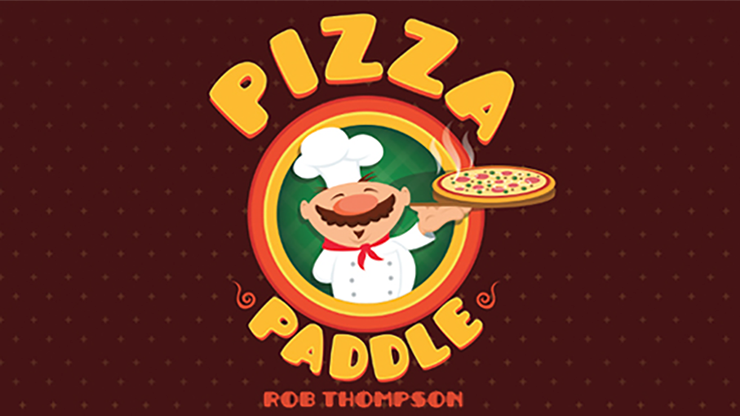 Pizza Paddle (Gimmicks & Instrucciones Online) - Rob Thompson