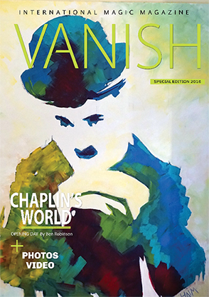 VANISH Magazine by Paul Romhany  (CHAPLIN'S WORLD SPECIAL) eBook
