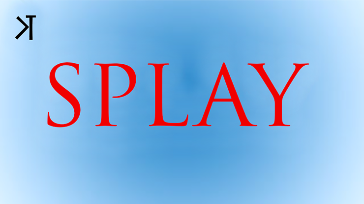 Splay by Kelvin Trinh Streaming Video