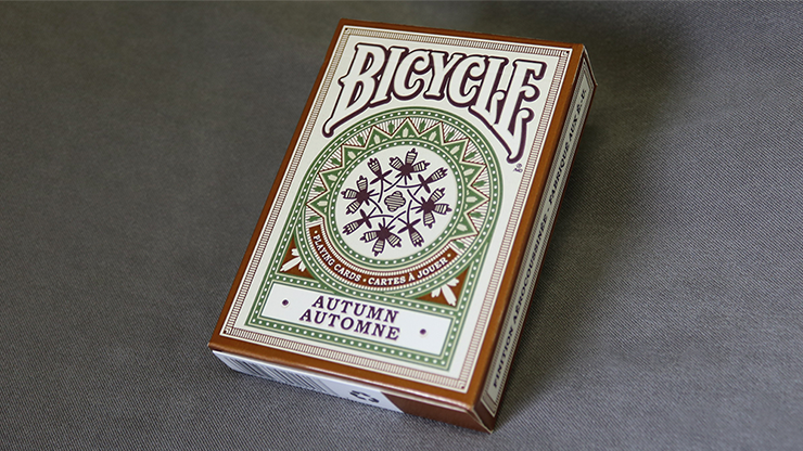 Cartas Bicycle Autumn Playing Cards