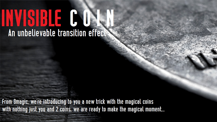 Invisible Coin by Smagic Productions - Trick