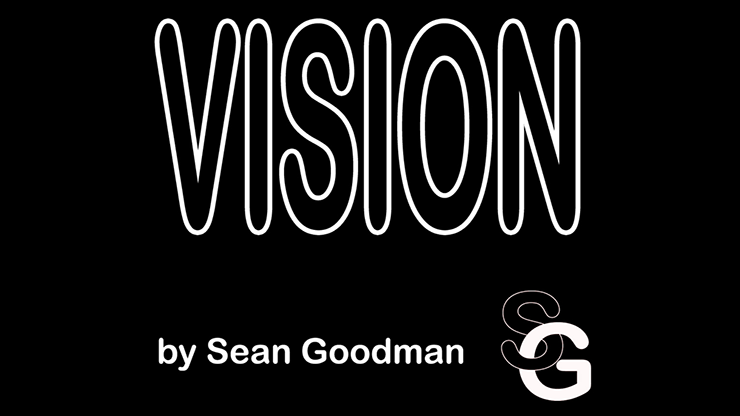 Vision standard business card size by sean goodman trick magic vision standard business card size by sean goodman trick colourmoves