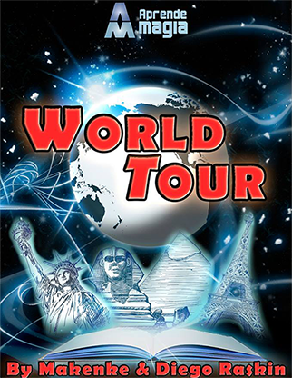 World Tour by Makenke, Diego Raskin and Aprende Magia  - Trick
