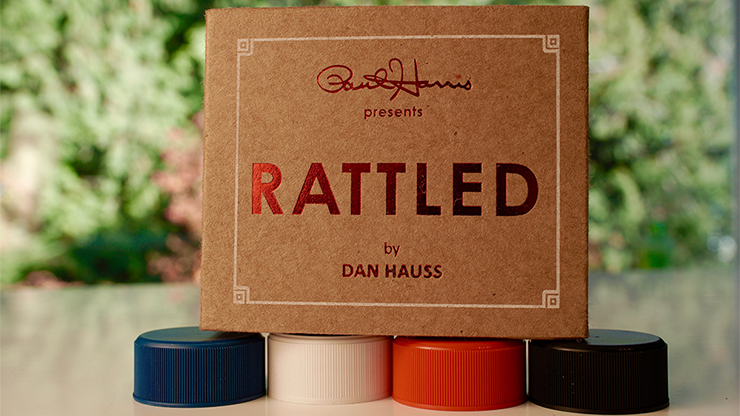 Paul Harris Presents Rattled (Black) by Dan Hauss - Trick