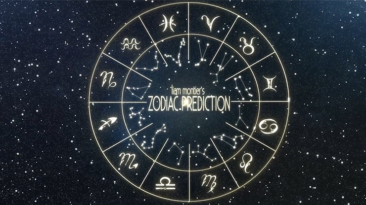Zodiac Prediction Red by Liam Montier Magic Trick