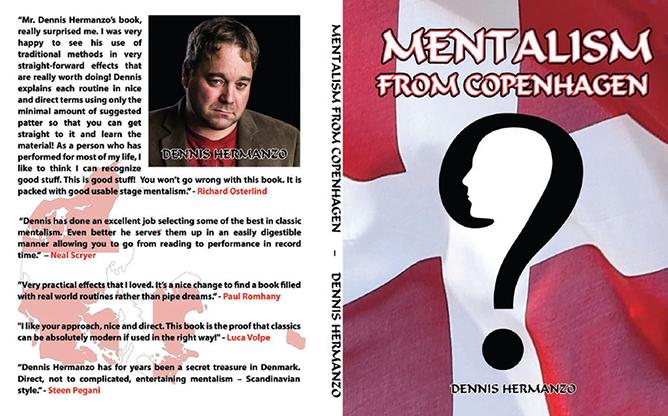 Mentalism From Copenhagen - Dennis Hermanzo - Libro de Magia