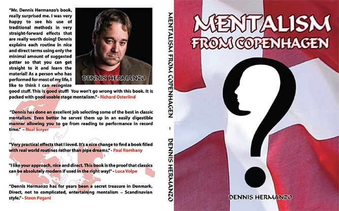 Mentalism From Copenhagen - Dennis Hermanzo - Book