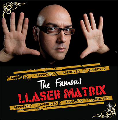 The Famous Llaser Matrix (Gimmick and Online Instructions) by Manuel Llaser (V0019)