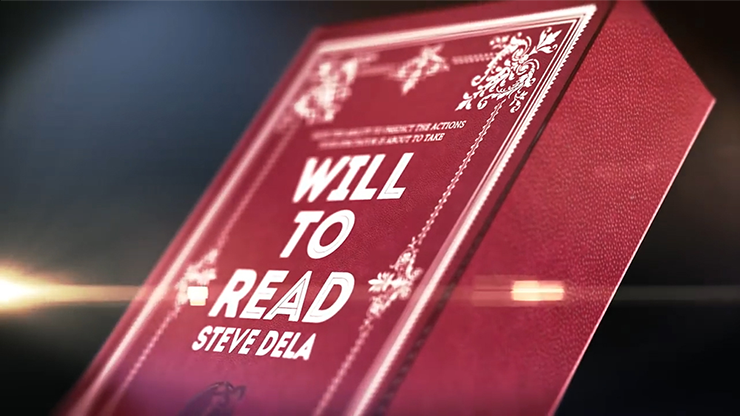 Will to Read (DVD and Gimmick) by Steve Dela