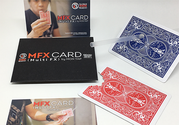 MFX Card (Red) by Mon Yap