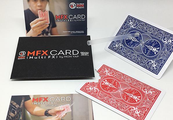 MFX Card (Blue) by Mon Yap - Kartenrestauration mit Biss, blau