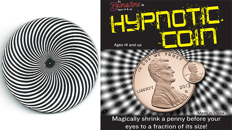 Hypno Coin (Hypnotic Coin) - Zanadu Magic