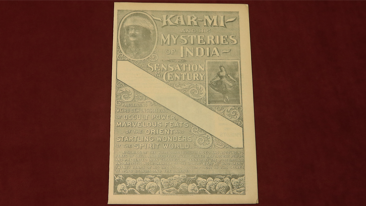 Kar Mi & His Mysteries of India (Rare/OOP) - Other