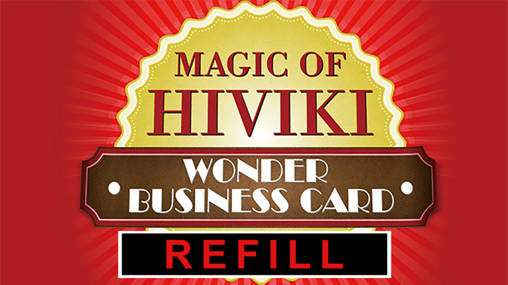 Refill for Wonder Business Card by Hiviki - Trick