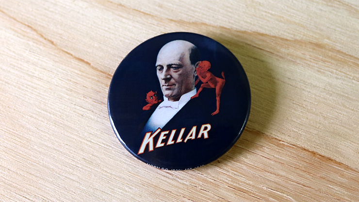 Keller Pin-Back Button (Rare/OOP) - Trick