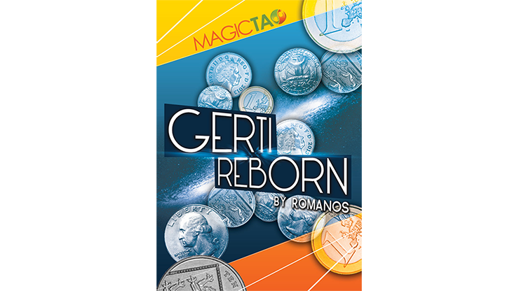 Gerti Reborn US Quarter Version (Gimmick and Online Instructions) by Romanos